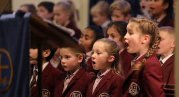 Caterham Prep School Carol Service 2019, held at Caterham United Reform Church, Caterham, Surrey,