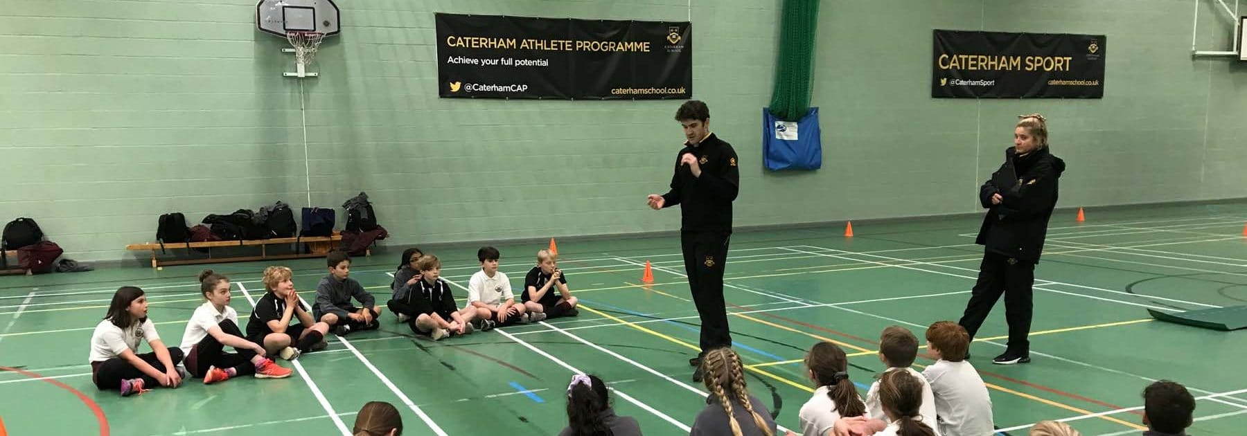 Caterham Athlete Programme Arrives at Prep